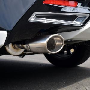 トヨタ ハリアー ターボ ASU60W マフラー DUALIST EX オーバルシングル左右出し TRD対応!【ポリッシュ】 送料無料!|rossomodello|14