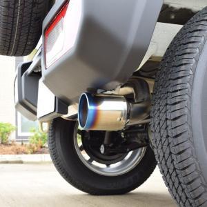 新型 ジムニー マフラー JB64W 【MT/AT共用】 ロッソモデロ DUSSEL Ti-C 車検対応 チタンテール パワーアップ!|rossomodello|03