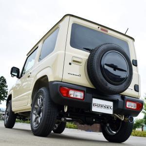 新型 ジムニー マフラー JB64W 【MT/AT共用】 ロッソモデロ DUSSEL Ti-C 車検対応 チタンテール パワーアップ!|rossomodello|05
