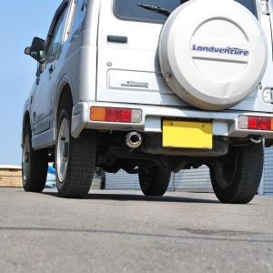 【送料無料】ロッソモデロ IKUSA ジムニー マフラー JA22W 安心の車検対応品・証明書付!!|rossomodello