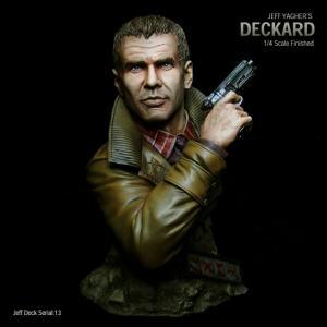 Deckard Bust完成品【Serial NO.13】|roswell-japan