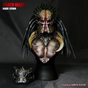 Death Mask 1/4scale bust完成品|roswell-japan