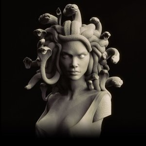 The Gorgon 1/2scale Bust kit【取り寄せ】|roswell-japan