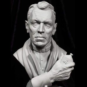 Father Merrin 1/4scale bust Kit【取り寄せ】|roswell-japan