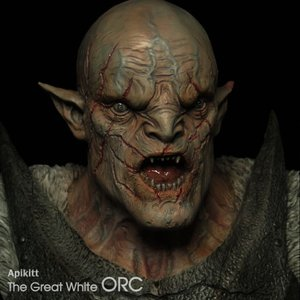 The Great White Orc Bust 完成品|roswell-japan