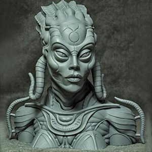 Sil 1/2scale Bust kit【取り寄せ】 roswell-japan