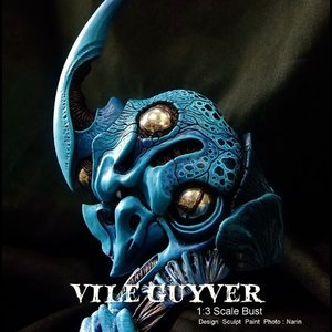 VILE GUYVER  1/3scale Bust  kit【取り寄せ】|roswell-japan