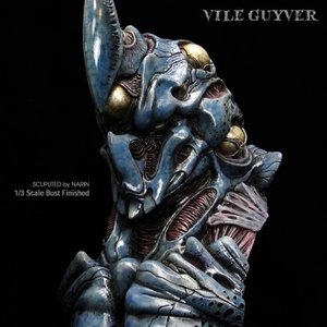 VILE GUYVER 1/3scale Bust 完成品|roswell-japan