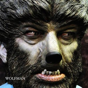 Wolf Man Wall-Hanger 完成品|roswell-japan
