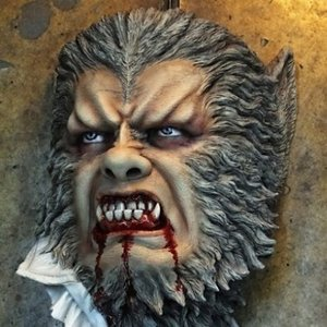 Werewolf 1/1scale Deluxe Wall-Hanger Kit【取り寄せ】|roswell-japan