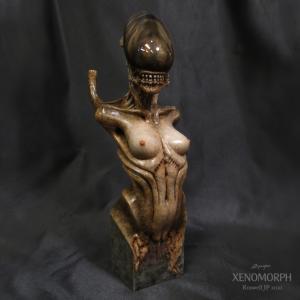 Xenomorph Bust 2完成品|roswell-japan