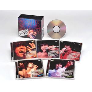 絶叫・情熱・感激/西城秀樹   CD4枚組+DVD1枚|roudoku