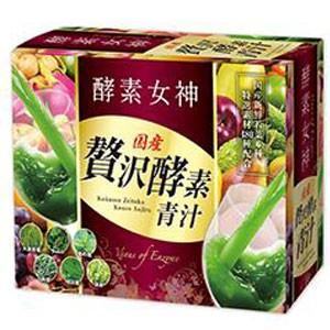 酵素女神 贅沢酵素青汁480 5g×30包 rouge