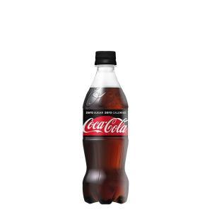 コカ・コーラゼロシュガー 500ml PET 24本セット【※コカコーラ製品以外は別途送料がかかります。同時注文の場合、後程追加送料のご請求がございます。】|rouge