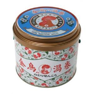 金鳥の渦巻 蚊取り線香 缶 (30巻) (防除用医薬部外品)|rouge