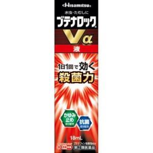【指定第2類医薬品】 久光製薬 ブテナロックVα 液 18ml|rouge