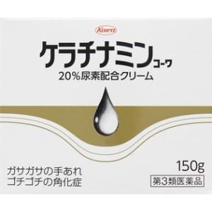 【第3類医薬品】 興和新薬 ケラチナミンコーワ 20%尿素配合クリーム 150g|rouge