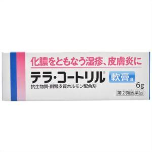 (指定第2類医薬品)武田薬品 テラ・コートリル軟膏a 6g  化膿を伴う諸症状の緩和