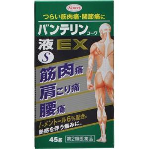 【第2類医薬品】 興和 バンテリンコーワ液EX S 45g 【メール便対象品】
