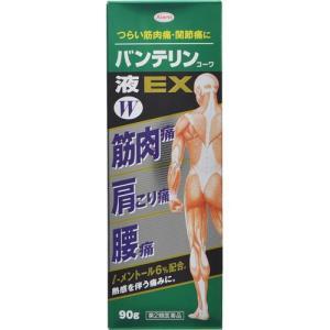 【第2類医薬品】 興和 バンテリンコーワ液EX W 90g 【メール便対象品】