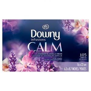 ダウニー(Downy) シート インフュージョン ラベンダーセレニティ 105枚 rouge