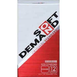 SOFT ON DEMAND CONDOMS (ソフトオンデマンド コンドーム) スタンダード 12個入 rouge