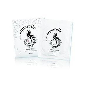 アクワレル マスクシート 1枚(23ml) /無鉱物・無石油系活性剤・無香料でお肌にやさしい自然派化粧品|rouge