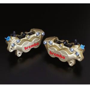 brembo ブレンボ 4ポットキャスティングキャリパー 40mmピッチ 左:20.5165.74 ...