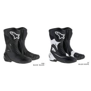 ALPINESTARS アルパインスターズ SMX-S  オンロードブーツ 2223517 ブラックブラック1100 ブラックホワイト12|roughandroad-outlet