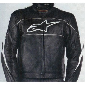 Alpinestars ATL Leather Jacket アルパインスターズ レザージャケット 310288|roughandroad-outlet