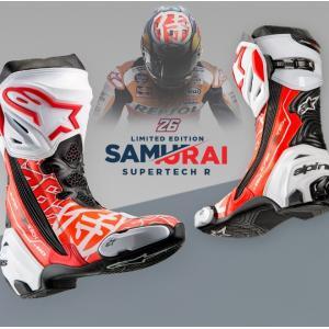 アルパインスターズ スーパーテックR 限定モデル Alpinestars Supertech-R SAMURAI ペドロサ レプリカ 侍 ブーツ シューズ Limited Edition 2220015|roughandroad-outlet