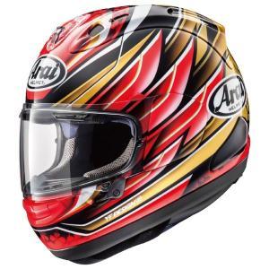 【在庫有り】アライ RX-7X NAKAGAMI GP(ナカガミGP) フルフェイスヘルメット 中上貴晶選手レプリカモデル Arai|roughandroad-outlet