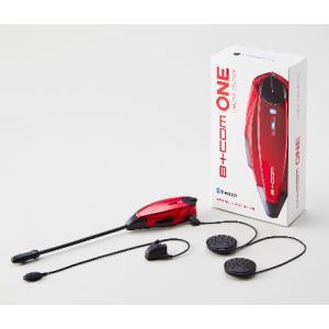 【限定販売】サインハウス SYGNHOUSE 国内正規品 B+COM ONE「Ruby Red」 ビーコム・ワン ルビーレッド  00081966 インカム bcomone-rubyred roughandroad-outlet