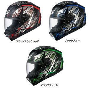 OGK KABUTO エアロブレード5  WIND ウインド フルフェイスヘルメット|roughandroad-outlet