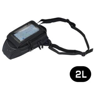 【サイズ交換可能】 ラフアンドロード RR9228 ホルスタブルタンクポーチラージ ブラック ROU...