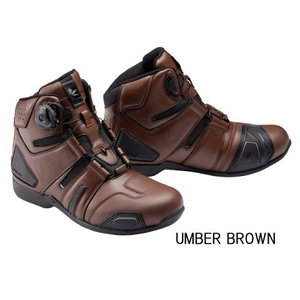 RSタイチ RSS006 DRYMASTER BOA 【UMBER BROWN】ドライマスター ボア ライディングシューズ アンバーブラウン 防水 rss006|roughandroad-outlet