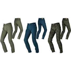 在庫処分特価です。  伸縮性に富み、どんなジャケットにも合わせられる カジュアルなライディングパンツ...