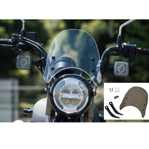 RALLY ラリー RY79024 メーターバイザーCT125 ハンターカブ(クリア、スモーク)|roughandroad-outlet