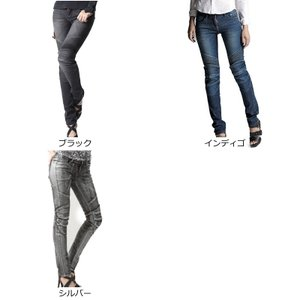 uglyBROS MOTOPANTS TWIGGY 【Women's】 UB1006 カラー:BLACK roughandroad-outlet