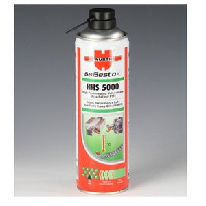 WURTH(ウルト) HHS5000高性能オイル 500ml|roughandroad-outlet