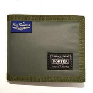 バズリクソンズ ポーター BR02614 ヘビーナイロンツイルウォレット セージグリーン色 財布 B...