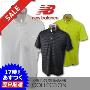 fadc4a790d355 ニューバランス メンズ 半袖ポロシャツ (M)(L)(LL) ゴルフウェア new balance 012-9160001