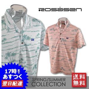 ■ロサーセン  ■上質な素材を使用した半袖ポロシャツです。 ゴルフからタウンまで幅広く着られるデザイ...