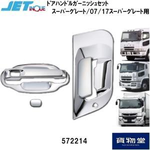JET 572214 三菱ふそうスーパーグレート ドアハンドルガーニッシュセット route2yss