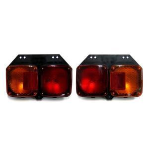 トラック用品 DS-0276/0277 日野KL2連テールランプ L&Rセット(4t用)|route2yss