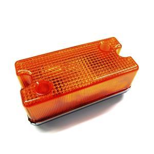 トラック用品 KOITO トレモ型車高灯 オレンジ(24V6W電球付)|route2yss