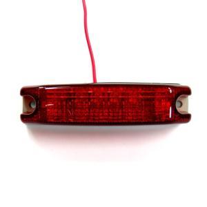KOITO25570 POLARGフルハーフ型4LED車高灯 赤レンズ/LEDレッド 24V用 route2yss