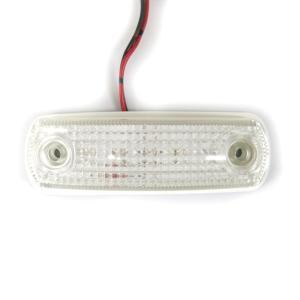トラック用品 ATS101 フルハーフ型LED車高灯 クリアレンズ/LED橙(24V用)|route2yss