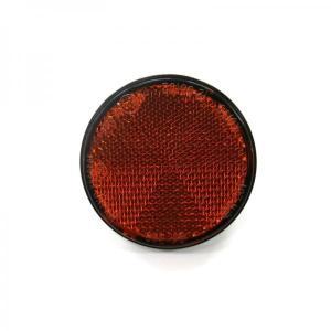 丸型レフレクター反射板(センターボルトタイプ) オレンジ|route2yss