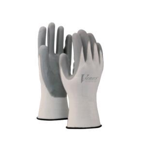 トラック用品 A-32 ニトリル背抜き手袋 ホワイト(Lサイズ)|route2yss